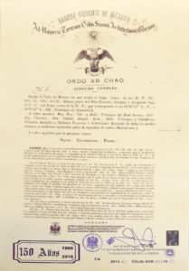 Acta de unificación de los Supremos Consejos 1868