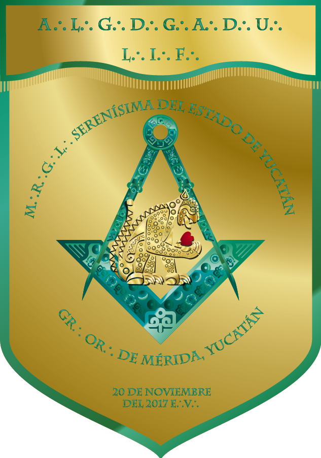 Estandarte de la M∴R∴G∴L∴ Serenísima del estado de Yucatán